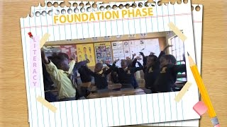 Sibongile Kubyane from Phumlani Primary school delivers a lesson on Shared Reading Grade 3. The lesson begins with a lovely song about reading and the ...