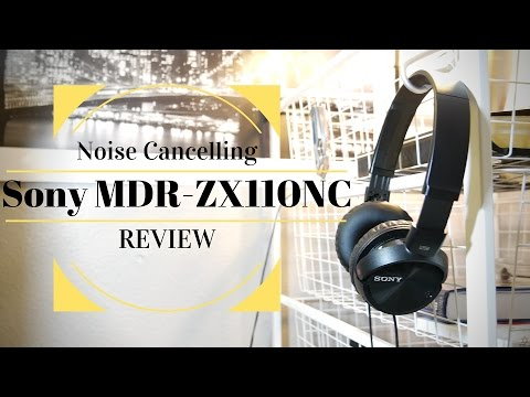 Sony $50 Active Noise Cancelling Headphones Review