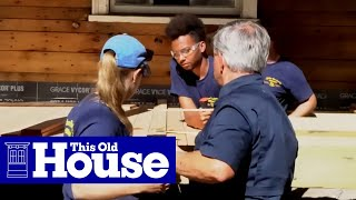 Generation NEXT apprentices Austin, Bailey, and Nathan work alongside Tommy and Kevin to pry decking from the porch.Follow TOH Generation Next on Twitter and Instagram:https://twitter.com/TOHGenNexthttps://www.instagram.com/tohgennext/Click here to SUBSCRIBE to the official This Old House YouTube channel: http://www.youtube.com/subscription_c...SIGN UP for This Old House INSIDER:https://www.thisoldhouse.com/insider/.Follow This Old House and Ask This Old House: Facebook: https://www.facebook.com/ThisOldHouseTwitter: https://twitter.com/thisoldhousehttps://twitter.com/asktohPinterest: http://www.pinterest.com/thisoldhouse/G+: https://plus.google.com/+thisoldhouse...Instagram: http://instagram.com/thisoldhouseTumblr: http://thisoldhouse.tumblr.com/