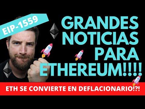 GRANDES NOTICIAS PAR ETHEREUM 2021!!! FECHA PARA EIP-1559!!!! ETH DEFLACIONARIO??!!