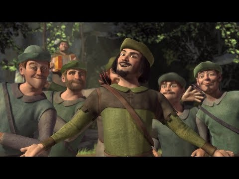 Shrek- Oh, Merry Men! (Robin Hood) HD Clip