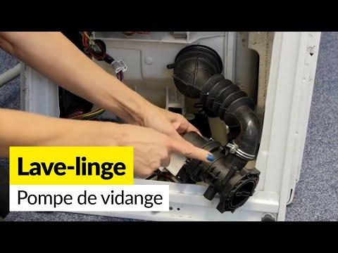 Comment vérifier et remplacer la pompe de vidange d'un Lave-linge