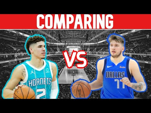 Comparing Rookie LaMelo Ball & Luka Doncic