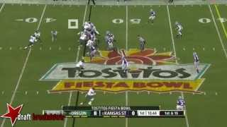 Colt Lyerla vs Kansas State (2012 Bowl)