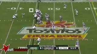 Colt Lyerla vs Kansas State (2012 Bowl)