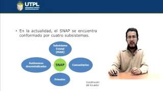 UTPL ÁREAS NATURALES PROTEGIDAS DEL ECUADOR [(INTRODUCCIÓN  A LAS CIENCIAS AMBIENTALES)]