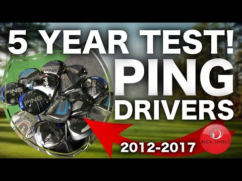 5 YEARS OF PING GOLF DRIVERS TESTED! 2012-2017