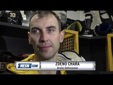 Video: Zdeno Chara reacts to Bruins' win over Sabres