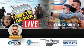 LIVE Tio Mica Recebe Elder, coordenador do Procon/VR