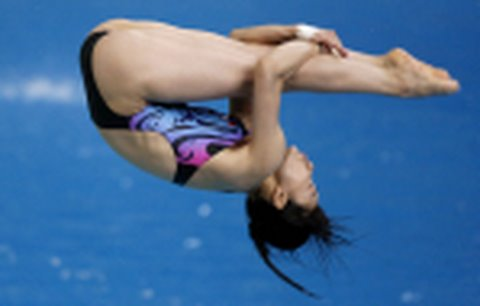 Olympic heroes dive into Hong Kong