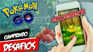 Pokémon GO 15 Excellent em 1 Dia DESAFIO by Pokémon GO Gameplay