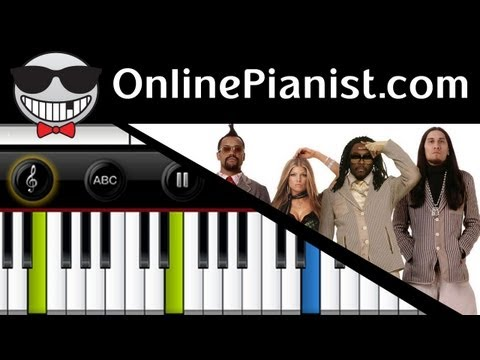 The Black Eyed Peas – Just Can't Get Enough – Piano Tutorial