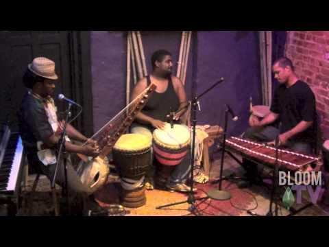 BloomTV: Amadou Kouyate (Kora), Weedie Braimah (Djembe), Uasuf Gueye (Balafon)