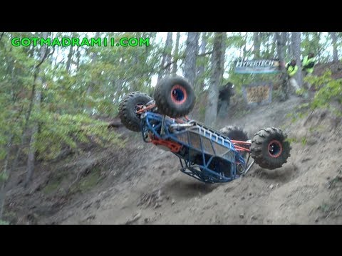 Ford buggy flips off of Showtime Hill