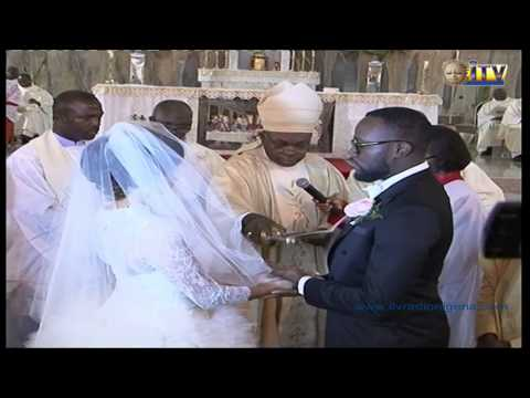 Lagos stood still as Benita Igbinedion and Godwin Odumah joined in Holy Matrimony