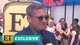 More from Entertainment Tonight: http://bit.ly/1xTQtvw ET chatted with the actor on the red carpet while promoting his new film, 'Despicable Me 3', in theate...