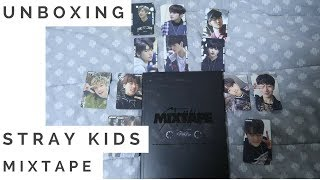 UNBOXING | STRAY KIDS - MIXTAPE