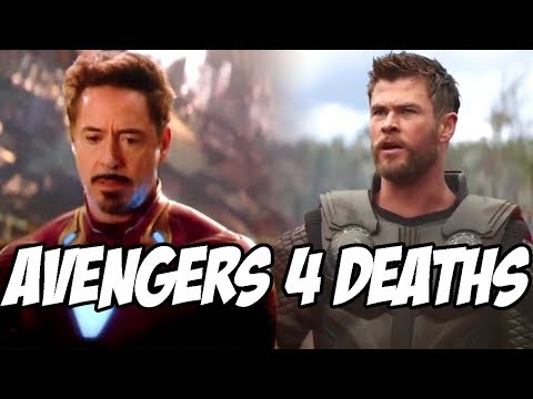 Avengers 4 Deaths Confirmation After Avengers Infinity War