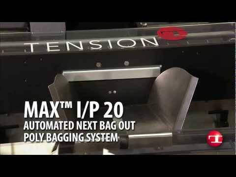 MAX™ I/P 20 Automated Next Bag Out Poly Bagging System