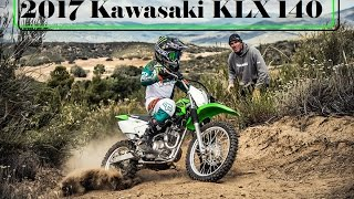 7. The New 2017 Kawasaki KLX 140