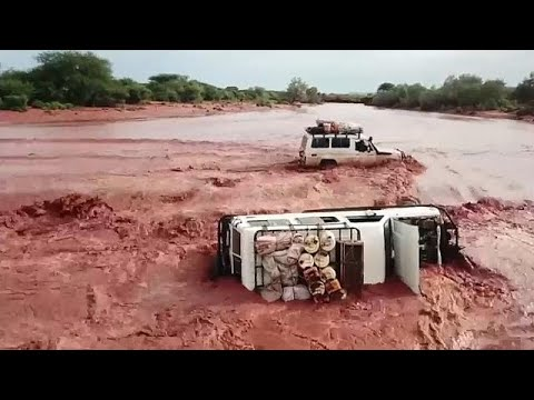 Kenia kämpft mit heftigen Überschwemmungen
