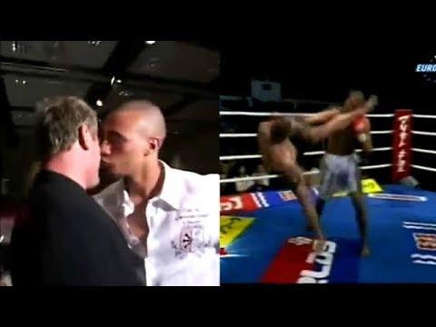 囂張的新生代拳手在賽前記者會羞辱前輩,結果上了擂台後‧‧‧