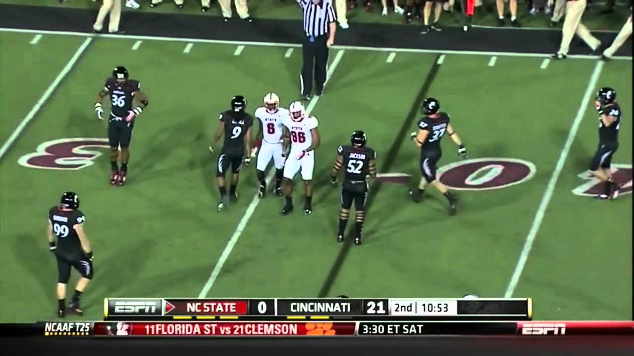 TJ Graham vs Cincinnati 2011