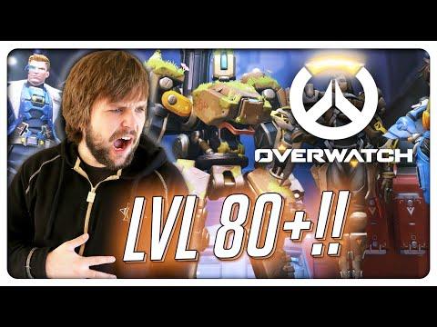 LVL 80+ IN OVERWATCH! (видео)