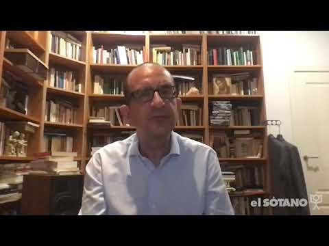 José Cobo habla de 'Incapaces de Dios' para las librerías El Sótano, de México