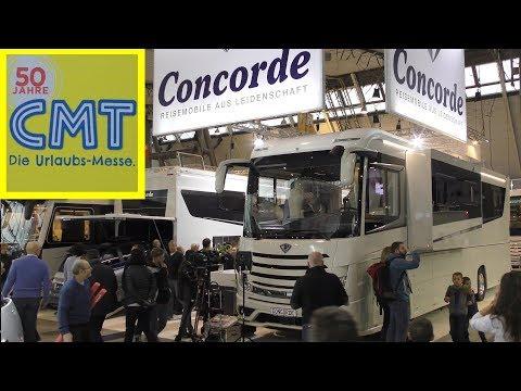 CMT Messe Stuttgart 2018 CONCORDE Reisemobile aus Leidenschaft - giant mobile homes