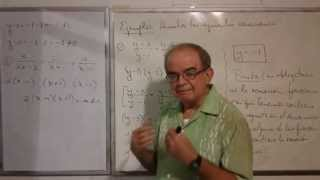 Algebra Intermedia - Lección 32 - A (ecuaciones Fraccionarias Y Su Prueba, Solución O Raíz Extraña)
