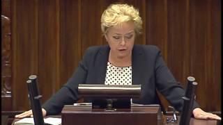 Małgorzata Gersdorf - I Prezes SN - wystąpienie z 18 lipca 2017 r. 46. posiedzenie Sejmu RP Pierwsze czytanie poselskiego...