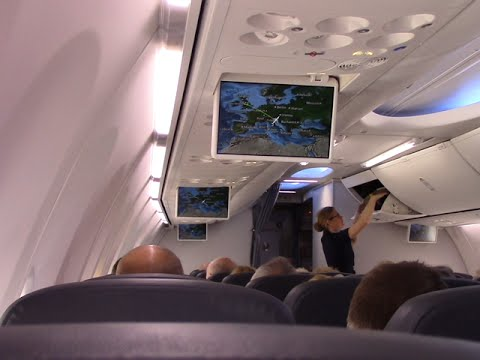 Onboard Thomson 737- 800 Manchester to Pula (and return) May 2015