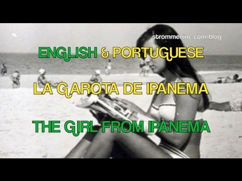 Video Astrud Gilberto & Stan Getz: The Girl From Ipanema - English and Portuguese Lyrics and Translation! download in MP3, 3GP, MP4, WEBM, AVI, FLV January 2017