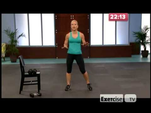 Exercise TV 10 lb Slimdown Lower Body