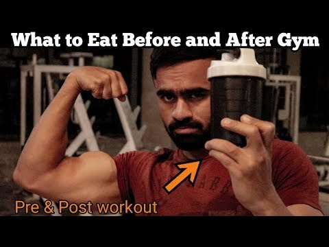 What to Eat Before and After a Workout at Gym  Nutrition Tips Meal