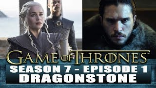"Game of Thrones S7 Episode 1 REVIEW - KHALESSI lands in Westeros and ARYA takes revenge! Subscribe ►http://bit.ly/JawiinSubscribePlease consider supporting our videos on Patreon ►https://www.patreon.com/Jawiin GAME OF THRONES Season 7 Episode 1 ""Dragonstone"" Review & Recap!, Game of Thrones Review, Game of Thrones Season 7 review, Game of Thrones Season 7 Episode 1 Review, Game of Thrones Season 2 Episode 1 TrailerTwitter ► http://twitter.com/JawiinFacebook ► http://www.facebook.com/JawiintvInstagram ► https://instagram.com/JawiinTumblr ► http://www.jawiin.tumblr.com/T-Shirts/Merch ► https://www.teepublic.com/user/jawiinListen to my podcast, Geek History Lesson!iTunes ► http://bit.ly/GeekHistoryLessonStitcher ►http://www.stitcher.com/podcast/jason-inman-2/geek-history-lessonPLAYLISTS FOR SHOWSThe Flash Season 4►https://goo.gl/XQtRQrDCTV Recap► https://goo.gl/OVEWB1Geek History Lesson► https://goo.gl/4HrtfpComic Book Videos► https://goo.gl/m6WNy4The Flash Season 3► https://goo.gl/EpnFmDMUSIC by RAMSES Bhttps://www.youtube.com/watch?v=7dfR8BkaQ2oI'm a geek who likes to read comic books and is the co-host of DC All Access. Who am I? I'm Jason Inman. For more funny stuff, check us out at http://www.jawiin.comThe views, opinions, and information expressed in this video are those of the hosts and do not necessarily reflect the official policy or position of any agency or company.GAME OF THRONES Season 7 Episode 1 ""Dragonstone"" Review & Recap!GAME OF THRONES Season 7 Episode 1 ""Dragonstone"" Review & Recap!GAME OF THRONES Season 7 Episode 1 ""Dragonstone"" Review & Recap!Game of Thrones Season 7 Episode 1Game of ThronesGame of Thrones ReviewGame of Thrones Season 7Game of Thrones Season 7 ReviewGame of Thrones Season 7 ReactionGame of Thrones RecapGame of Thrones Season 7 trailerGame of Thrones Season 7 trailer 2aryatyrionDaenerysJon SnowDragons"