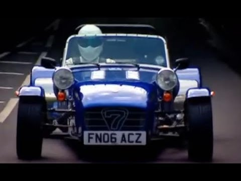 Top Gear Stig - Highlights from a Top Gear feature. Jeremy Clarkson, James May and Richard Hammond take on The Stig in a race as they try to build a Caterham from scratch an...