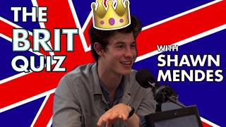 The Brit Quiz with Shawn Mendes! Video