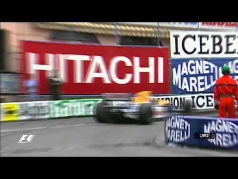 formula 1 gp monaco 1992: ayrton senna vs nigel mansell