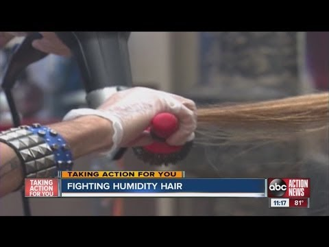 How to fight humidity hair