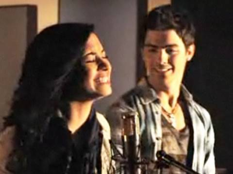 Make A Wave Music Video  Demi Lovato and Joe Jonas