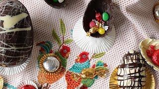 Video paso a paso: Cómo huevos de Pascua
