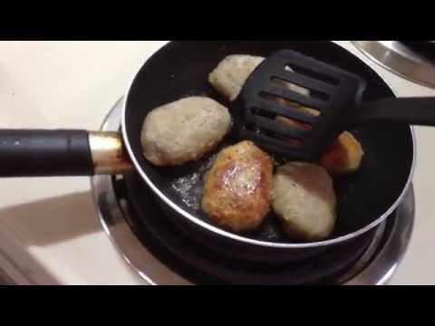 south asian - Cooking South Asian fish cakes made for me by my friend George from Kerala, India. via YouTube Capture.