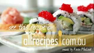 How to Make California Roll Sushi