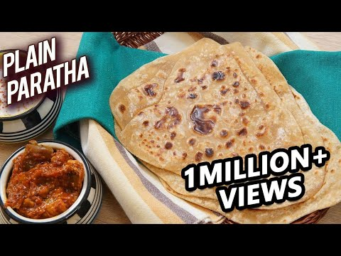 Plain Paratha Recipe – Homemade Paratha Recipe – Paratha Recipe Indian – How To Make Paratha – Ruchi