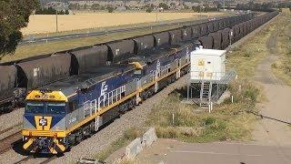 Hunter Valley Australia  city photos gallery : Coal Trains in the Hunter Valley - 6 Nov 2013: Australian Trains