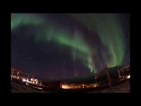 Auroras Boreales en Abisko Laponia Sueca