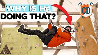 4 Bizarres Moves From The CRAZY World Of Ice Climbing | Climbing Daily Ep.1672 by EpicTV Climbing Daily