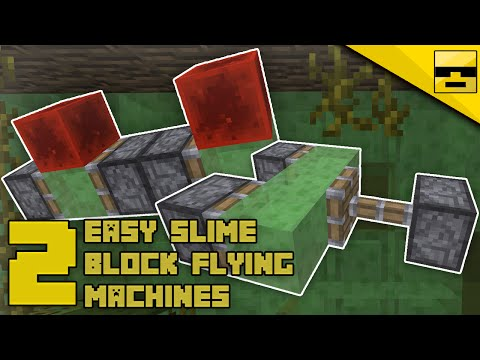 Minecraft simplest flying machine afk semi automatic bajool how to make slime block flying machines minecraft tutorial ccuart Image collections